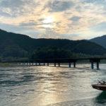 四万十川で一番長い沈下橋「佐田沈下橋(今成橋)」は夕日を見るのにうってつけスポット!