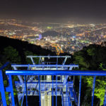 ロープウェイでも行ける!眉山展望台は徳島市街の夜景を一望できるおすすめデートスポット