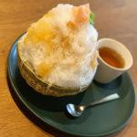 バーもあるゲストハウス「内子晴れ」で贅沢なかき氷を食べてきた