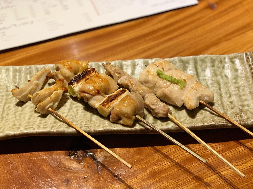 串盛り四種