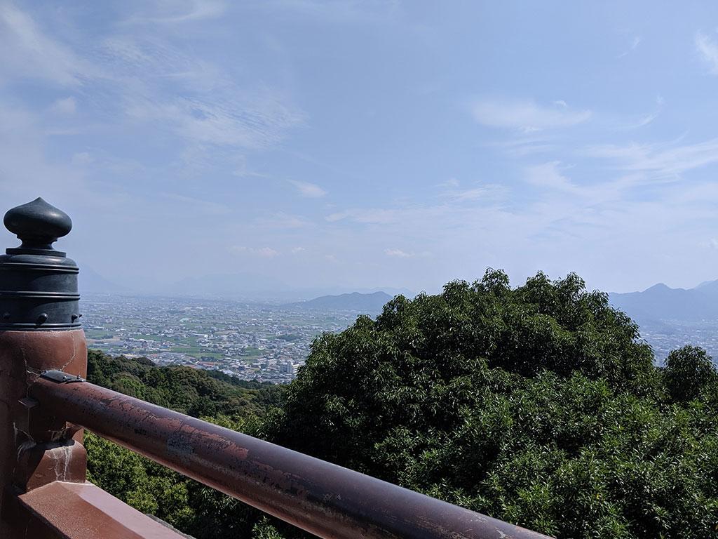 本宮横の高台