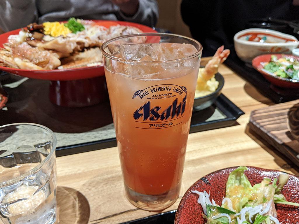 ブラッドオレンジの梅酒
