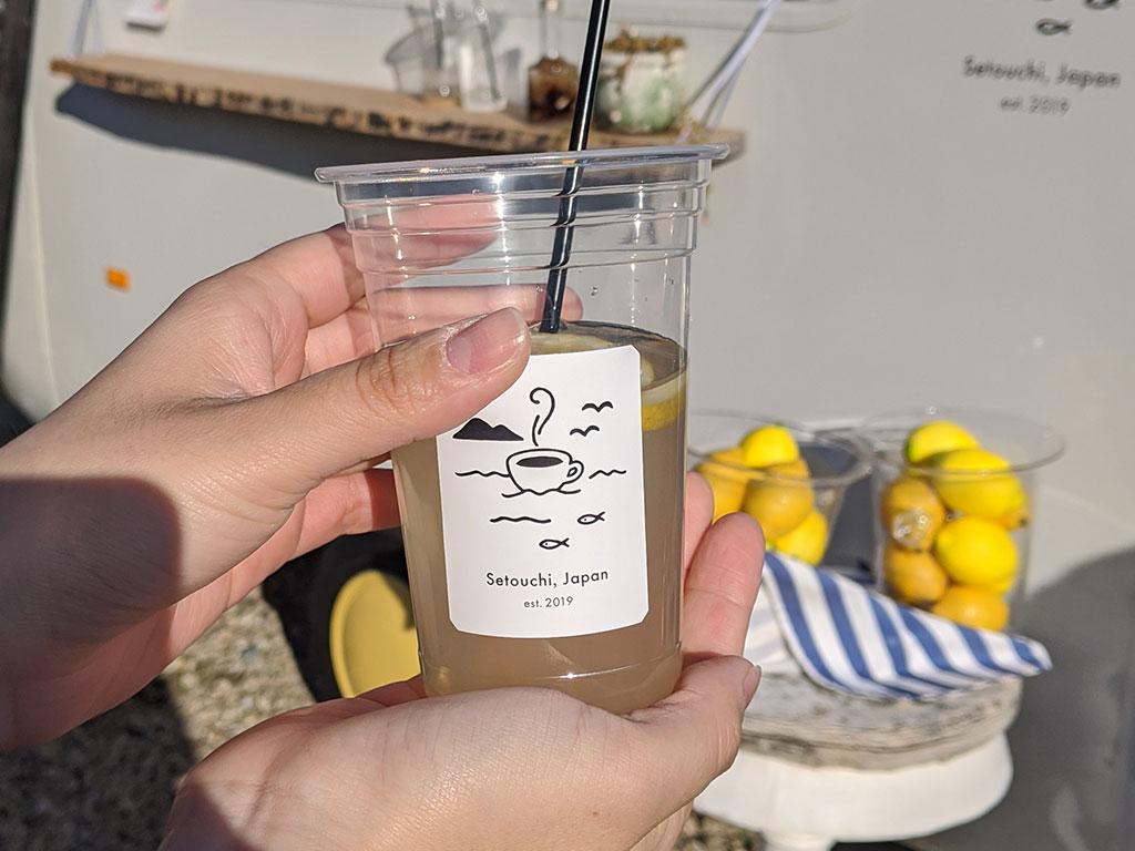 生搾りレモンジュース