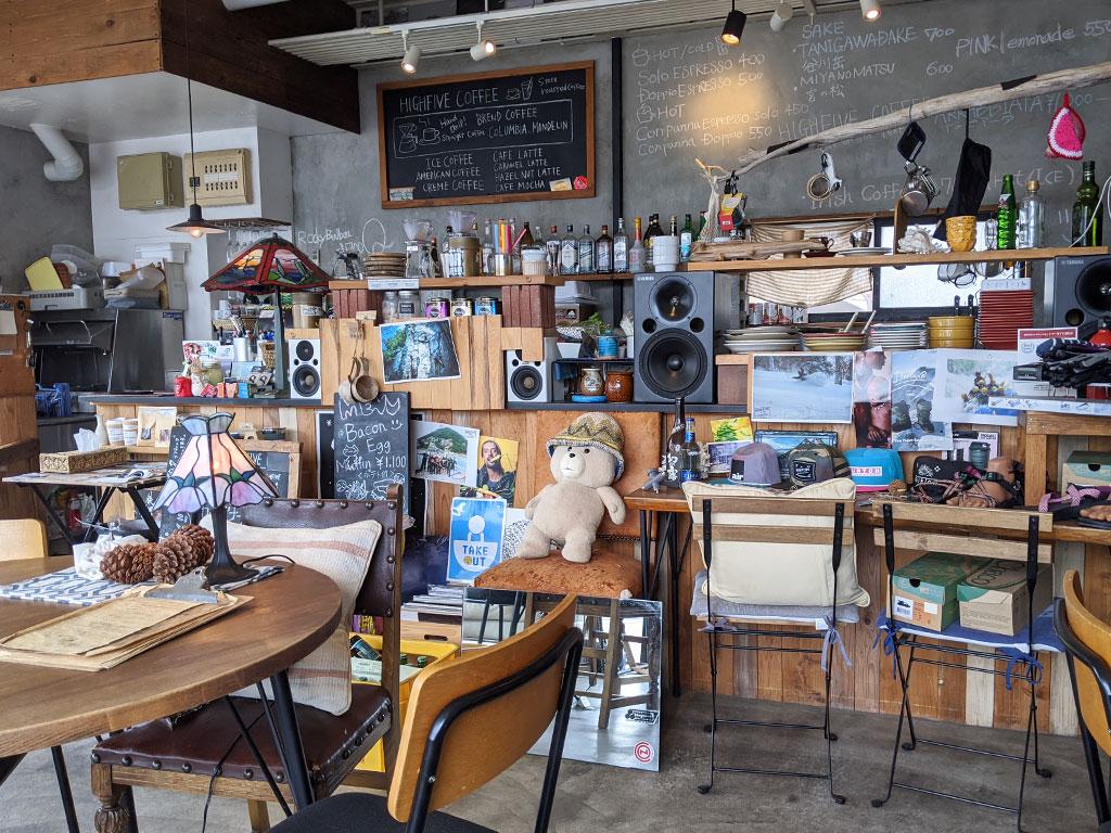 ハイファイブコーヒー 店内01