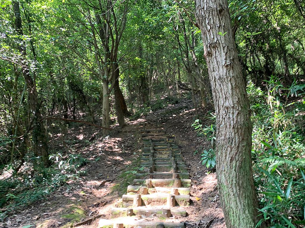 険しい山道02