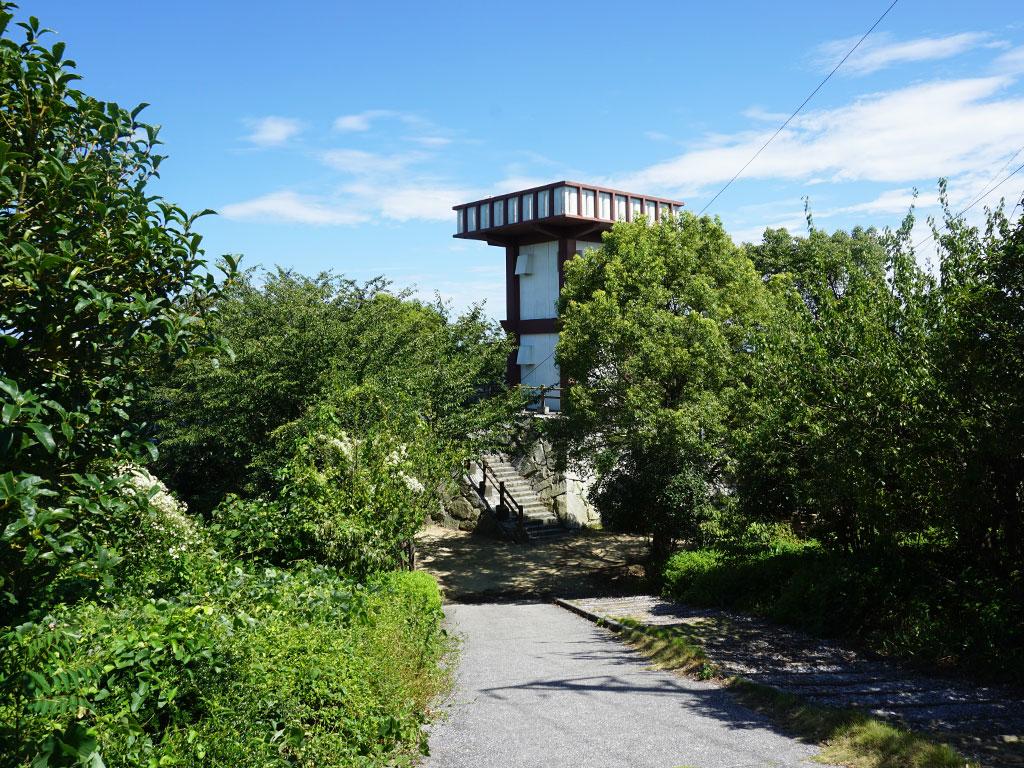 カレイ山展望公園 展望台