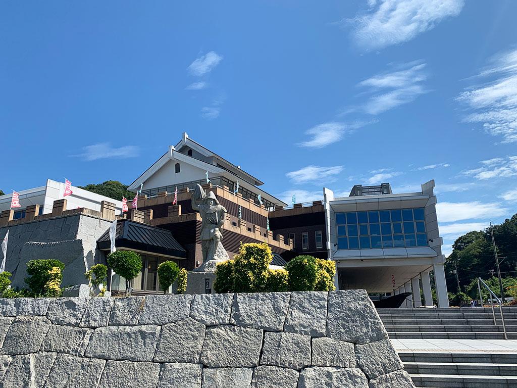 能島水軍の向かいにある村上海賊ミュージアム