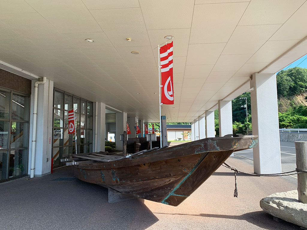 村上海賊ミュージアムの屋外展示01